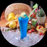 Frozen drink machine rental - Blue Raspberry